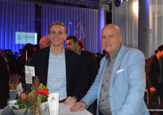 Thomas Wennekers (Codema) en Danny Erkens (Oriental Group).