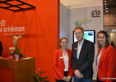 Royal Brinkman introduced HortiHygienz, a new hygiene concept. Raisa Weterings, Jan Willem Keijzer and Esther van Winden.