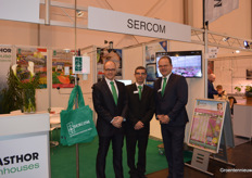 Sercom with Hugo Nijgh, Ignacio Rodrguez Gracia and Jan-Willem Lut.