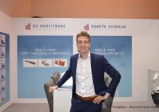 Dave Debets of DS HortiTrade and Debets Schalke
