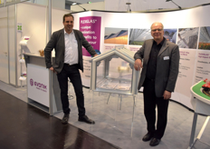 Michael Roll Bernd Petri with Evonik