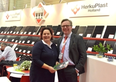 Els Schrauwen visits Alfred Boot with Herkuplast.