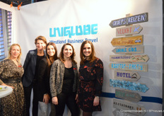 Het team van Uniglobe Westland Business Travel