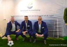Ferry, Paul en Peter van Westland AccountancyScoren doe je samen met Westland Accountancy