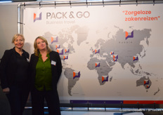 Conny Kleppe en Mandy van Tetering van Pack Go Business Travel