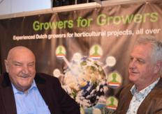 Ton Enthoven en Lies van Geest van Growers for Growers