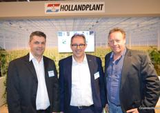 Kurt Lauwers, Alex van Os en Wim Willemse van HollandPlant