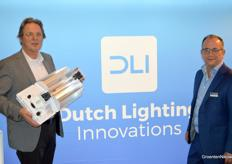 Ton ten Haaf en Pepijn Looijaard van Dutch Lighting Innovations