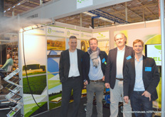 Reldair en Flexxolutions in een mistige stand.