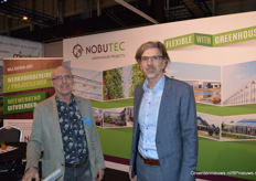 Henri Bloem en Ron van der Burg van Nobutec Greenhouse Projects.