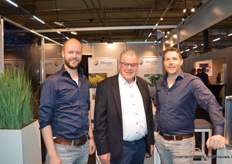 Robbert van Diemen, Bert ten Have en Steven Triep (HR Solar Pojects)