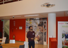 Drone-demonstratie door Lucien Fesselet (Applied Drone Innovations)