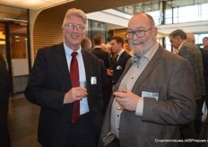 Piet Boonekamp (Artemis) en Jan Willem de Vries (Wageningen University Research)