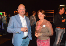 Rob Stoffer (RS Plant) en Gerda van den Top (Top training en coaching)