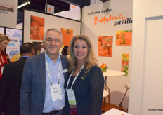 Richard Schouten van Fresh Produce Center en Adrielle Dankier van Nature's Pride