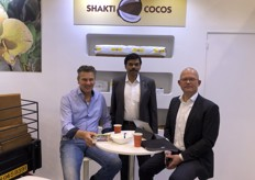 The incomplete  Shakti Cocos team…. Get well soon Peter.