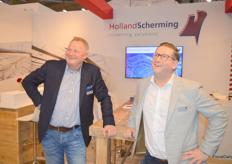 Peter Rense and Pascal den Heijer of Holland Scherming and Holland Screens.No lack of vision of these two visionaries