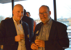 Tommy van Velzen (ABN AMRO Delft-Westland) en Jan Willem de Vries (Wageningen University & Research)